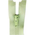 #2.5 nylon coil, light weight, one way seperating. Ideal for bustier and halter top use.