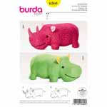 Rhino or hippo – big stuffed animals for little kids. They're great to cuddle but also to climb and sit on!