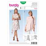 BURDA - 6790 Ladies Dress - Top Young