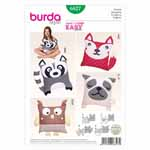 BURDA - 6827 Décor Animal Pillow