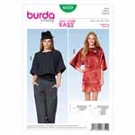 BURDA - 6850 Ladies Top Young