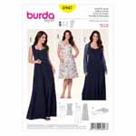BURDA - 6947 Ladies Dress/Jacket