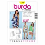 BURDA - 7390 Ladies Dress/Top