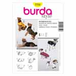 BURDA - 7752 Accessory Dog Coat