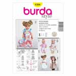 BURDA - 8308 Accessory Doll Clothes