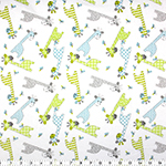 Fabric Creations 100% cotton flannel comes in a variety of prints and colours. Fabric measures approximately 107 cm (42″) wide and comes on a 7.3m (8 yard) bolt.
