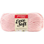 Ever Soft is a light-worsted weight oh-so-soft acrylic perfect for a wide range of projects. Available in a range of solids and multis, this brilliant and lustrous yarn offers great tonal ranges ideal for afghans - and a seasonal palette of brights and pastels perfect for year-round garments for babies, kids, and adults! 144.5m (158yds) and 85g (3oz). 100% Acrylic. Machine wash warm and tumble dry low. 3 balls/bag.