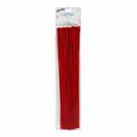 Chenille stems for decorating and crafts. 6mm x 12″ - 25 pcs.