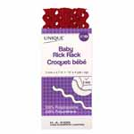 Used as decorative trimming for apparel, home décor and crafts. 100% polyester. Machine wash 40°, tumble dry and iron at low heat, dry cleanable.