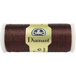 Diamant is a single-strand metallic thread that is extremely smooth for an easy glide through any type of fabric. Soft to the touch, it does not twist or tangle making Diamant the easiest metallic needlework thread for stitching. One strand of Diamant is equivalent to two stands of embroidery fl oss so it is ideal for hand embroidery, cross stitch, tatting, and quilting. DMC ART #380.