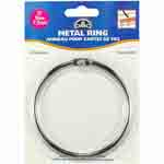 This large Metal Craft Ring helps to organize thread and bobbins for needlework projects. Use the ring to sort and store craft materials or use as a base for creative craft activities. Each package contains one Metal Craft Ring (3″ diameter). DMC Art. 6111/6.