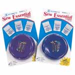 This limited edition value pack includes the most useful items needed in all sewing rooms: SCHMETZ home sewing needles and the ever popular Grabbit® Magnetic Pin Cushion. Includes Embroidery 75/11 & 90/14, Gold Embroidery 75/11.