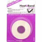 HeatnBond Lite is specially formulated for securing light to medium weight fabric pieces onto other fabric surfaces so that they may be machine or hand sewn. Ideal for attaching fabric appliqué, interfacing waistbands, cuffs and collars. This paper-backed adhesive is activated at a low temperature, making it the ideal adhesive for most fabrics. Use with: Lightweight fabrics and materials, sewing projects and machine appliqués.