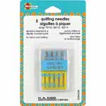 Assorted sizes for all quilting needs. A Quilting Needle has a slim, tapered point and slightly stronger shaft for stitching through multiple fabric layers and across intersecting seams.