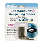 For electric rotary blade sharpener. Includes one (1) set of two (2) fine diamond grit.