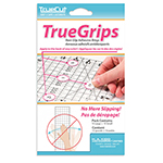 For straight, accurate cuts, you need to keep your ruler from slipping. TrueGrips help you by adding a non-slip surface to any ruler. Comes in a pack of 15. Transport for easy fabric visiblit. Safeguards against slipping.