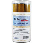 Assortment of 15 spools of Gold 100m Gutermann Jean thread. Ideal for sewing, topstitching and repairs.