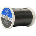 Sulky Premier Invisible .004 Polyester Monofilament. 2200yds. of very fine, flexible polyester monofilament which is on an easy to use snap spool. Ideal for invisible quilting and applique. Blends invisibly with dark colours.. 2200yd King snap spool.