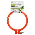 Plastic embroidery hoop. Ideal for embroidery. 10cm. Red.