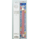These knitting needle sets are perfect for kids. Big smiles on the knobbed ends make for happy little knitters. Perfect for children and learners.