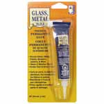 Permanent, super strong glue that bonds glass, plastics, most metals, mirrors, canvas, rubber and many other hard-to-hold materials. Dries clear & flexible.