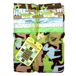 Kit includes 6 different pieces in coordinating family designs to complete a 76.20 x 91.44cm (30″ x 36″) cuddly quilt. Backing fabric included. Easy-to-follow instructions. Not intended for children's sleepwear.