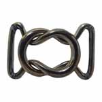 ELAN Wire Clasps are ideal for creating a decorative and functional closure for belting on garments, bags, and home décor items. Available in a variety of sizes, finishes, and styles.