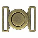 ELAN Metal Clasps are ideal for creating a decorative and functional closure for belting on garments, bags, and home décor items. Available in a variety of sizes, finishes, and styles.