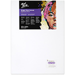 Single thick canvases feature an 18mm deep frame that is designed for framing. Triple coated with universal primer. Suitable for moderate application of paint. Features: acid free, 380gsm canvas, 100% cotton duck, high-density weave, triple coated universal primer, mitred corners, double row back stapled. Sizes over 60cm include bracing, wooden stretcher keys, 18 x 38mm pine wood frame, kiln dried stretcher bar and shrink wrapped. Suitable for use with, Mont Marte Acrylic Paint, Mont Marte Oil Paint. Not suitable for use with poster, gouache or watercolour paint.