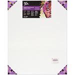 Single thick canvases feature an 18mm deep frame that is designed for framing. Triple coated with universal primer. Suitable for moderate application of paint. Features: acid free, 380gsm canvas, 100% cotton duck, high-density weave, triple coated universal primer, mitred corners, double row back stapled, sizes over 60cm include bracing, wooden stretcher keys, 18 x 38mm pine wood frame, kiln dried stretcher bar and shrink wrapped. Suitable for use with, Mont Marte Acrylic Paint, Mont Marte Oil Paint. Not suitable for use with poster, gouache or watercolour paint.