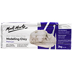 This versatile product is great for many crafting projects. Air Hardening Modelling Clay does not need to be heated is suited. From student to artists and professional modellers, Mont Marte Air Hardening Clay is a perfect choice. This clay hardens at normal room temperature, dries in around 24hrs to earthenware hardness (depending on thickness). This heavy bodied clay is pliable after kneading.