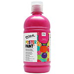 Mont Marte's Poster Paint is a tempera styled paint and is ideal for school students and art groups. With vibrant colour and a matte finish this fabulous paint is quick to dry. Poster paint is easy to blend and offers great opacity. Non-toxic and washable.